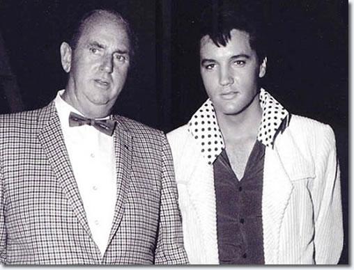 Colonel Tom Parker and Elvis Presley 1966
